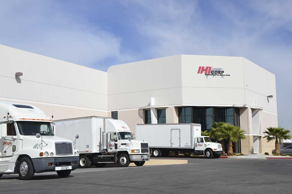 Warehousing Services for hotel, casino and commercial industries